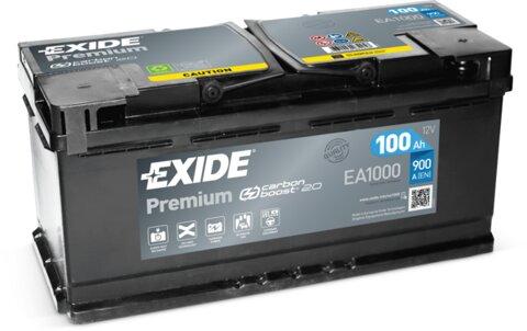 štartovacia batéria EXIDE PREMIUM - 12V, 100Ah, 900A, 353mm
