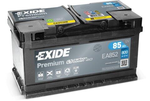 štartovacia batéria EXIDE PREMIUM - 12V, 85Ah, 800A, 315mm