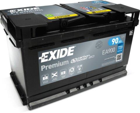 štartovacia batéria EXIDE PREMIUM - 12V, 90Ah, 315mm, 720A
