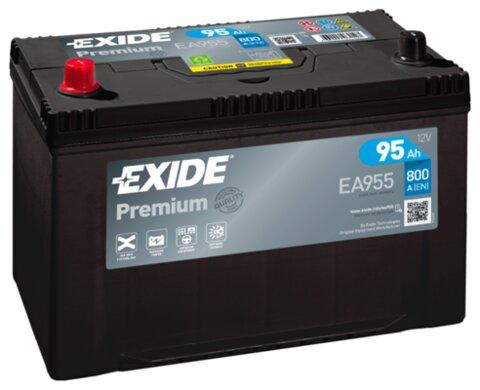 štartovacia batéria EXIDE PREMIUM - 12V, 95Ah, 800A, 306mm