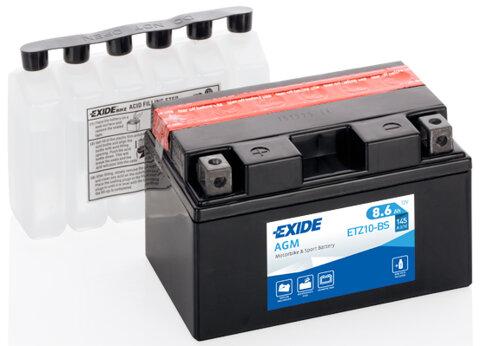 Motobatérie PDM EXIDE  - 12V, 8,6Ah, 150mm, 145A