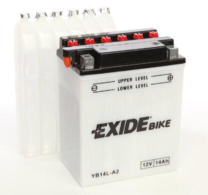 Motobatérie PDM EXIDE  - 12V, 14Ah, 134,1mm, 145A