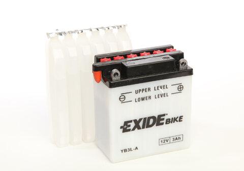 Motobatérie PDM EXIDE  - 12V, 3Ah, 98mm, 25A