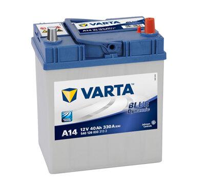 Autobatérie PDM VARTA BLUE dynamic  - 12V, 40Ah, 330A, 187mm
