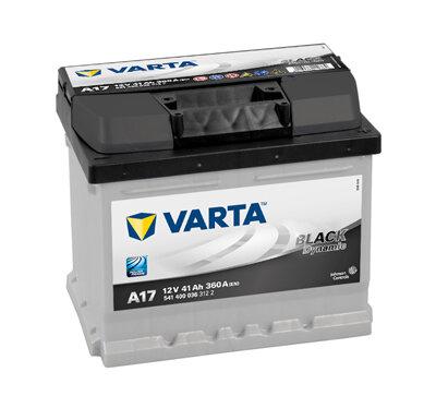Autobatérie PDM VARTA BLACK dynamic  - 12V, 41Ah, 360A, 207mm