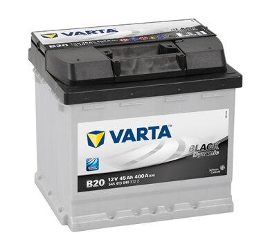Autobatérie PDM VARTA BLACK dynamic  - 12V, 45Ah, 400A, 207mm