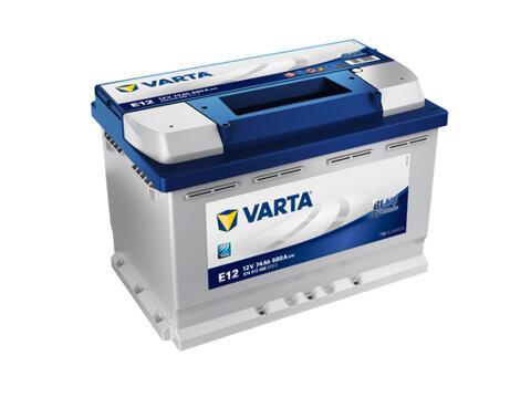 štartovacia batéria VARTA BLUE dynamic - 12V, 74Ah, 680A, 278mm