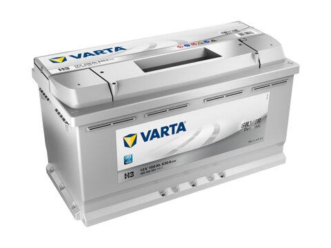 štartovacia batéria VARTA SILVER dynamic - 12V, 100Ah, 830A, 353mm