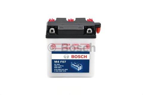 štartovacia batéria BOSCH SLI - 6V, 6Ah, 30A, 99mm