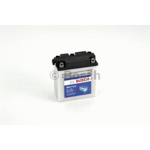Motobatérie PDM BOSCH M4 Fresh Pack  - 6V, 12Ah, 80A, 123mm