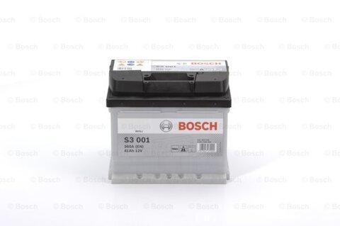 Autobatérie PDM BOSCH S3  - 12V, 41Ah, 360A, 207mm