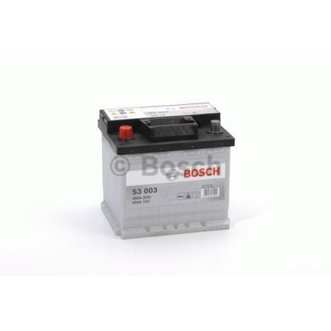 Autobatérie PDM BOSCH S3  - 12V, 45Ah, 400A, 207mm
