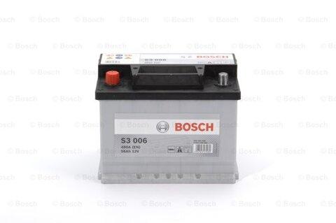 štartovacia batéria BOSCH S3 -  - 12V, 56Ah, 480A, 242mm