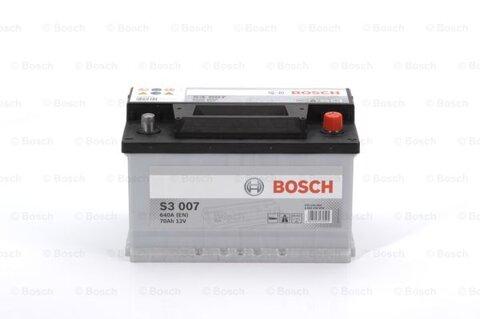 štartovacia batéria BOSCH S3 -  - 12V, 70Ah, 640A, 278mm