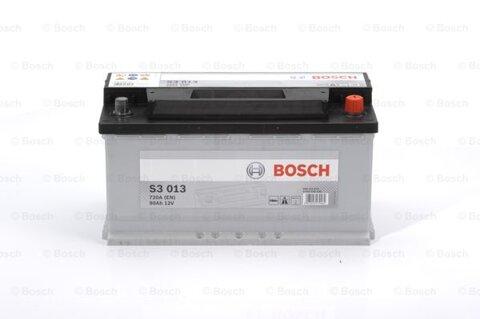 štartovacia batéria BOSCH S3 -  - 12V, 90Ah, 720A, 353mm