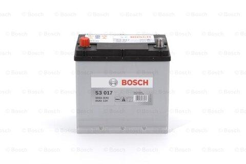 štartovacia batéria BOSCH S3 -  - 12V, 45Ah, 300A, 220mm