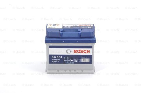štartovacia batéria BOSCH S4 -  - 12V, 44Ah, 440A, 207mm