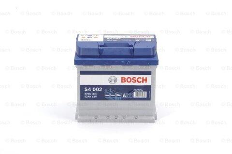 štartovacia batéria BOSCH S4 -  - 12V, 52Ah, 470A, 207mm