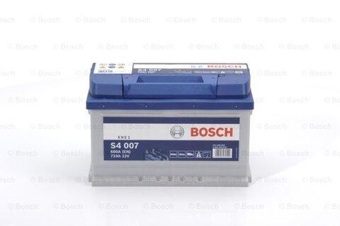 štartovacia batéria BOSCH S4 -  - 12V, 72Ah, 680A, 278mm