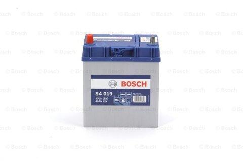 Autobatérie PDM BOSCH S4  - 12V, 40Ah, 330A, 187mm