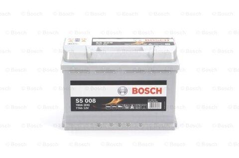 štartovacia batéria BOSCH S5 - 12V, 77Ah, 780A, 278mm