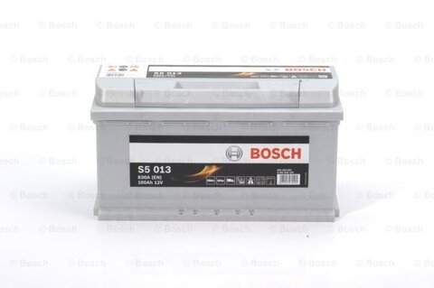 štartovacia batéria BOSCH S5 - 12V, 100Ah, 830A, 353mm