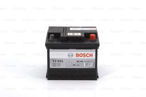 Autobatérie PDM BOSCH SLI  - 12V, 45Ah, 300A, 207mm