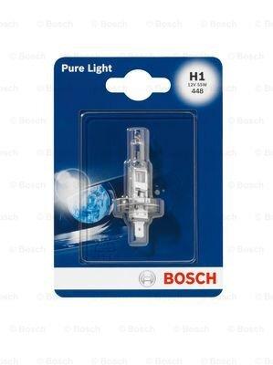 Žiarovky H1 BOSCH Pure Light  - 12V, 55W, H1, P14,5s