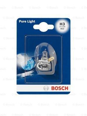 Žiarovky H3 BOSCH Pure Light  - 12V, 55W, H3, PK22s