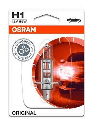 Žiarovky H1 OSRAM ORIGINAL  - H1, 12V, 55W, P14,5s