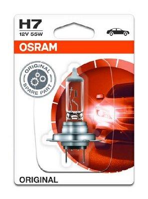Žiarovky H7 OSRAM ORIGINAL  - H7, 12V, 55W, PX26d