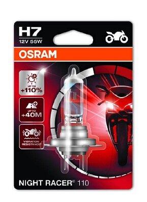 OSRAM NIGHT RACER 110 NIGHT RACER 110 H7 64210NR1-01B 55W +110% blister -1ks