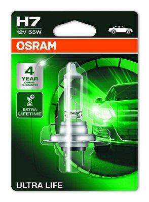 Žiarovky H7 OSRAM ULTRA LIFE  - H7, 12V, 55W, PX26d