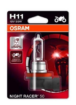 OSRAM NIGHT RACER 50 NIGHT RACER 50 H11 64211NR5-01B 55W +50% 1ks