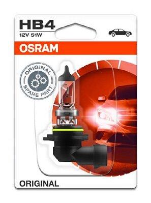 Žiarovky HB4 OSRAM ORIGINAL  - HB4, 12V, 51W, P22d