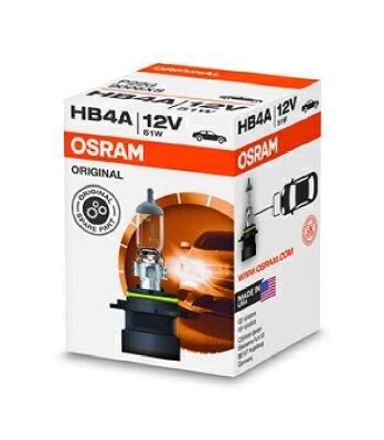 OSRAM ORIGINAL original HB4A 12V 51W rovná pätica