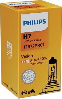 Žiarovky H7 PHILIPS Vision  - H7, 12V, 55W, PX26d