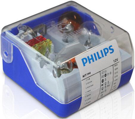 Sady žiaroviek PHILIPS Single Kit  - H4, 12V