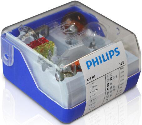 Sady žiaroviek PHILIPS Single Kit  - H7, 12V