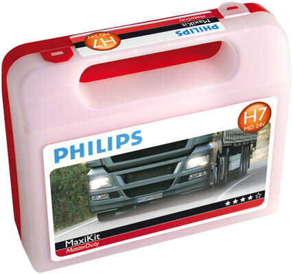 Sady žiaroviek PHILIPS  - H7, 24V