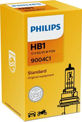 Žiarovky HB1 PHILIPS  - HB1, 12V, 65/45W, P29t
