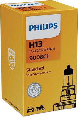 Žiarovky H13 PHILIPS  - H13, 12V, 60/55W, P26,4t