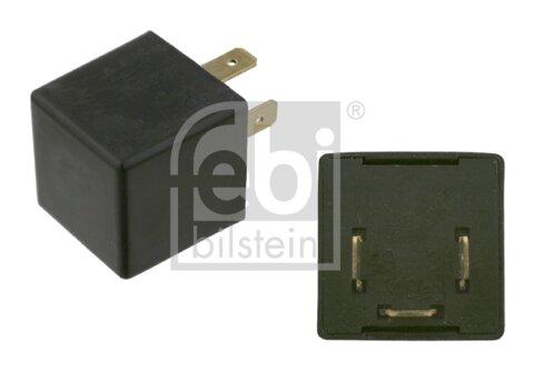 Prerušovač smerových svetiel FEBI BILSTEIN  -  - 12V, 21W, cierny, elektronicky, 0,032kg