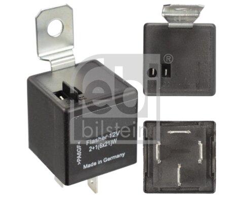 Prerušovač smerových svetiel FEBI BILSTEIN  -  - elektricky, 0,03kg