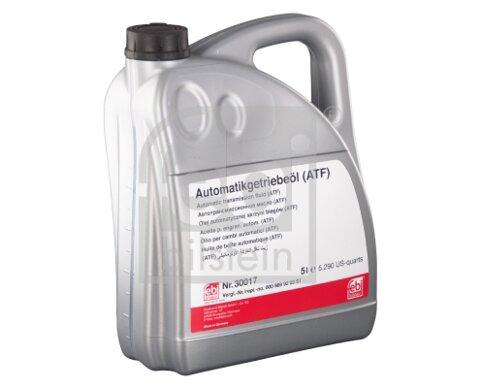 Prevodové oleje FEBI BILSTEIN  - cervena, 5l, 4,88kg