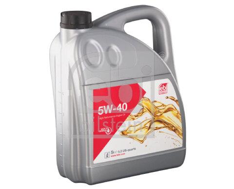 Motorové oleje FEBI FEBI BILSTEIN  - 5l, 5W-40, 4,601kg
