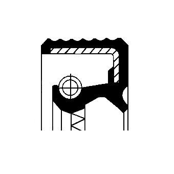 Tesniaci krúžok vačkového hriadeľa CORTECO  -