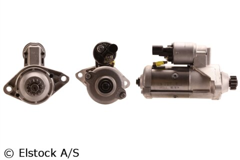 štartér ELSTOCK - 12V, 197mm, 43mm