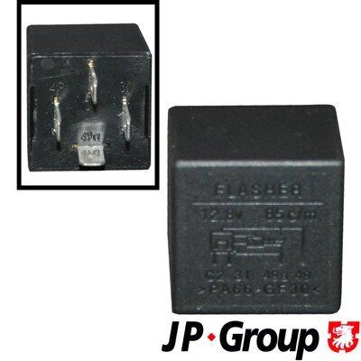 Relé výstražných smerových svetiel JP GROUP  -  - 4 + 2 x 21W