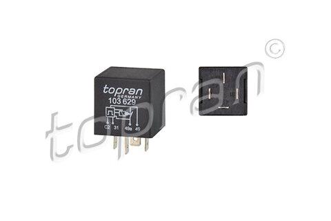 Relé výstražných smerových svetiel TOPRAN  -  - 4 + 2 x 21W